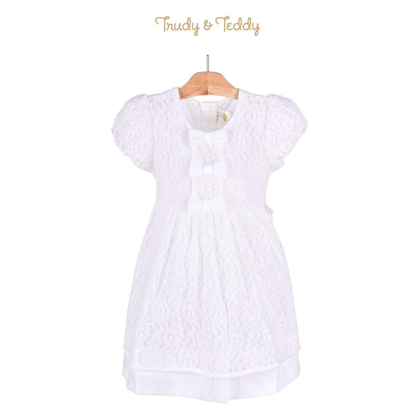 Trudy & Teddy Toddler Girl Short Sleeve Woven Dress 815104-312 : Buy Trudy & Teddy online at CMG.MY