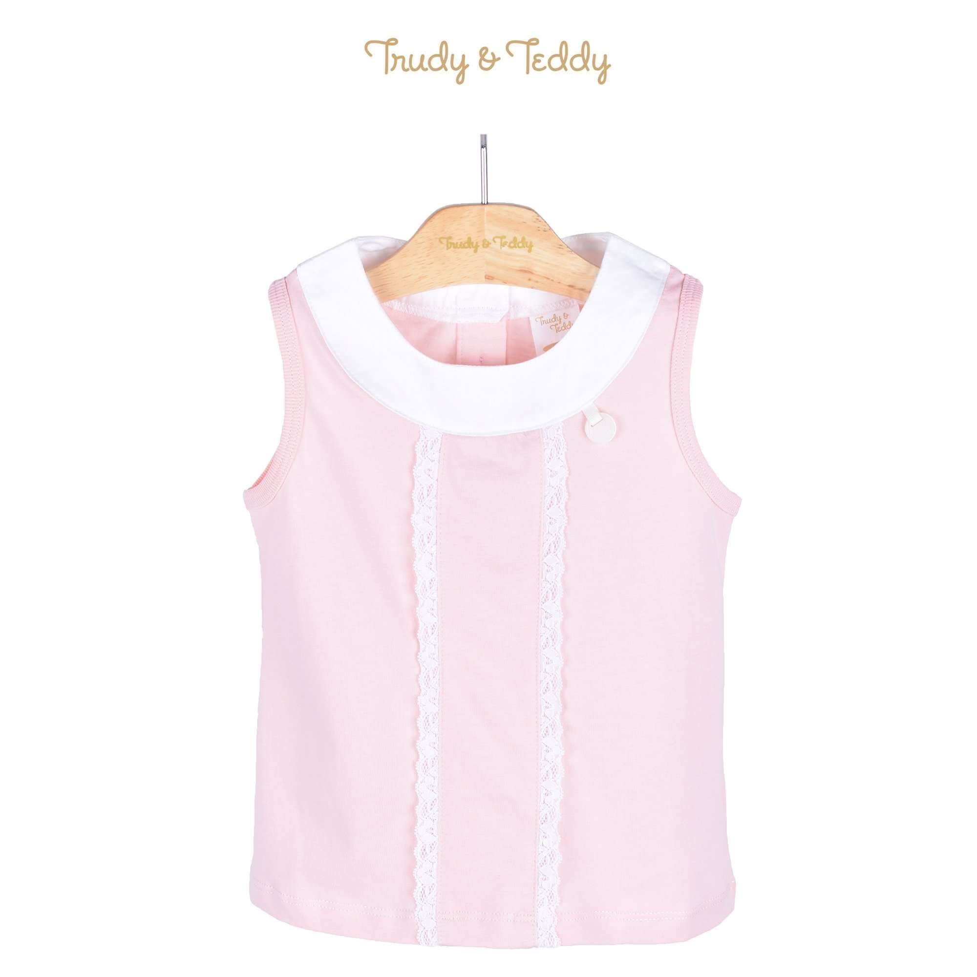 Trudy & Teddy Toddler Girl Sleeveless Tee 815122-101 : Buy Trudy & Teddy online at CMG.MY