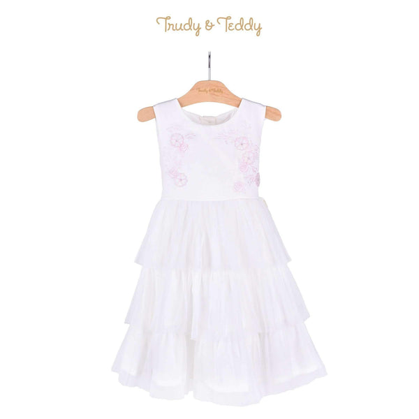 Trudy & Teddy Toddler Girl Sleeveless Woven Dress 815112-311 : Buy Trudy & Teddy online at CMG.MY