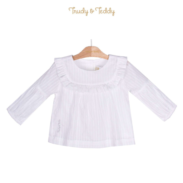Trudy & Teddy Toddler Girl Three Quarters Long Sleeve Blouse 815143-151 : Buy Trudy & Teddy online at CMG.MY
