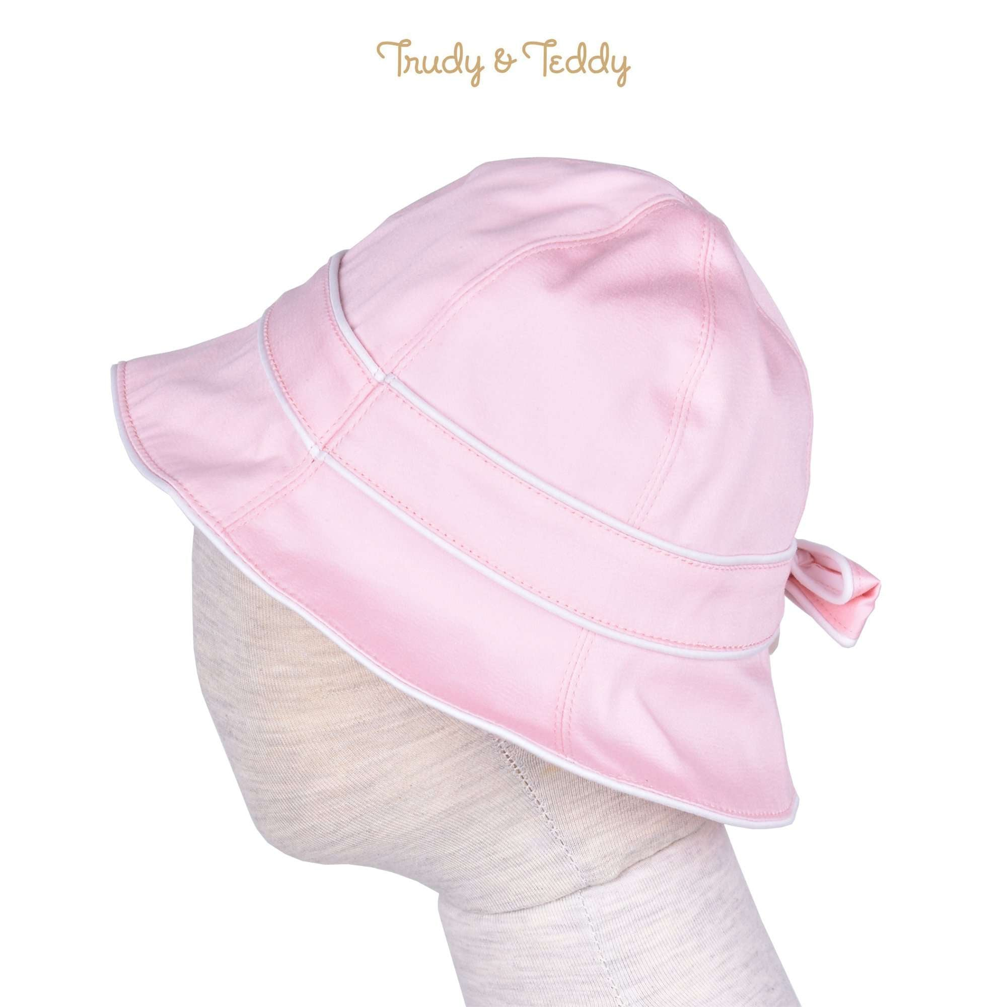 Trudy & Teddy Toddler Girl Woven Hat - Pink 815158-713 : Buy Trudy & Teddy online at CMG.MY