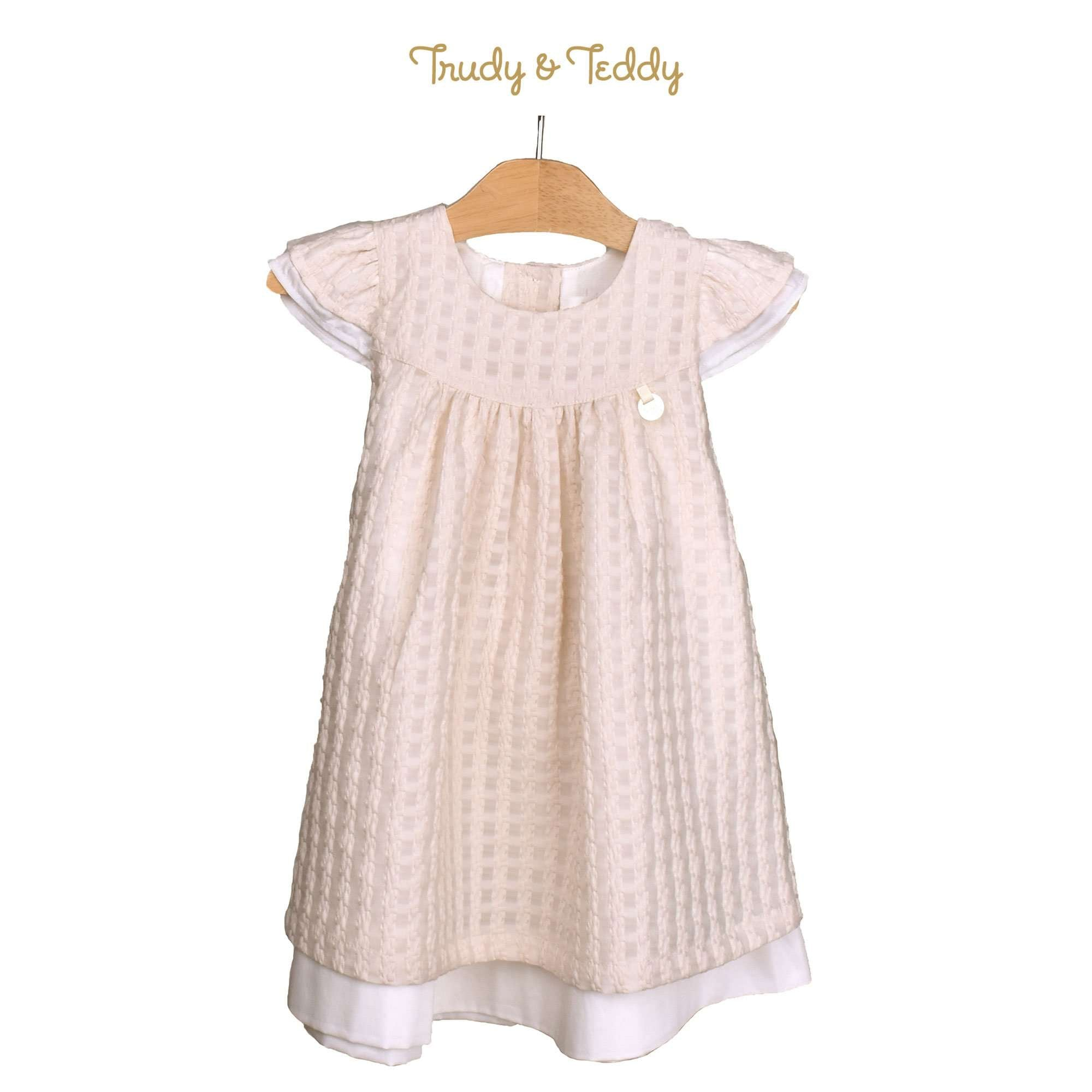 Trudy & Teddy Toddler Girl Woven Short Sleeve Dress 815138-311 : Buy Trudy & Teddy online at CMG.MY