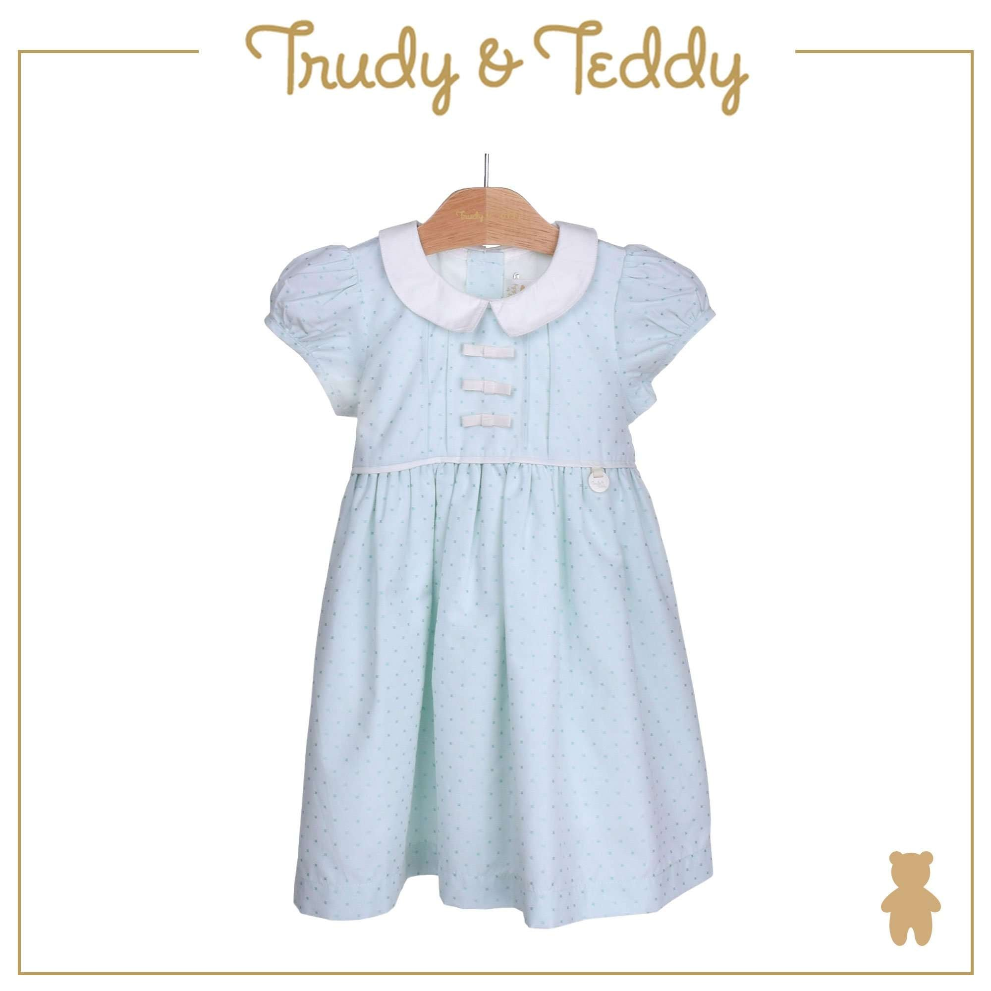Trudy & Teddy Toddler Girl Woven Short Sleeve Dress 815168-312 : Buy Trudy & Teddy online at CMG.MY