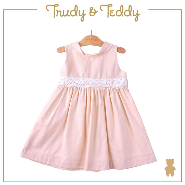Trudy & Teddy Toddler Girl Woven Sleeveless Dress- Light Peach 815171-312 : Buy Trudy & Teddy online at CMG.MY