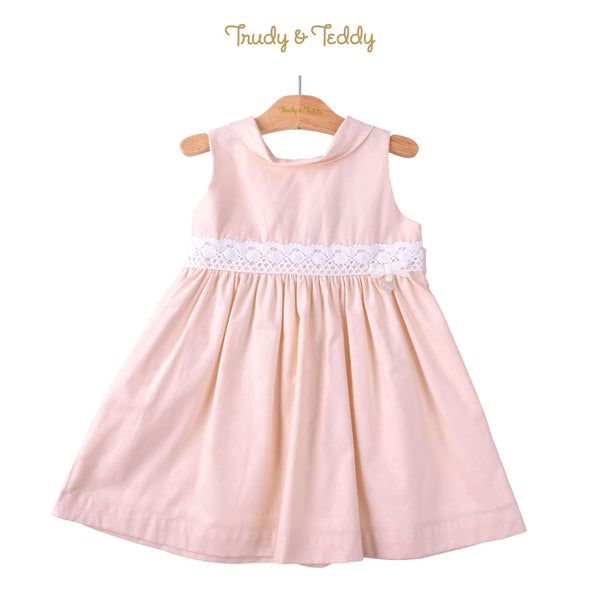 Trudy & Teddy Toddler Girl Woven Sleeveless Dress- Light Peach 815173-312 : Buy Trudy & Teddy online at CMG.MY