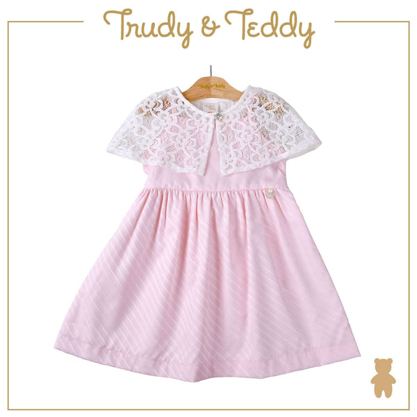 Trudy & Teddy Toddler Girl Woven Sleeveless Dress- Light Pink 815175-311 : Buy Trudy & Teddy online at CMG.MY