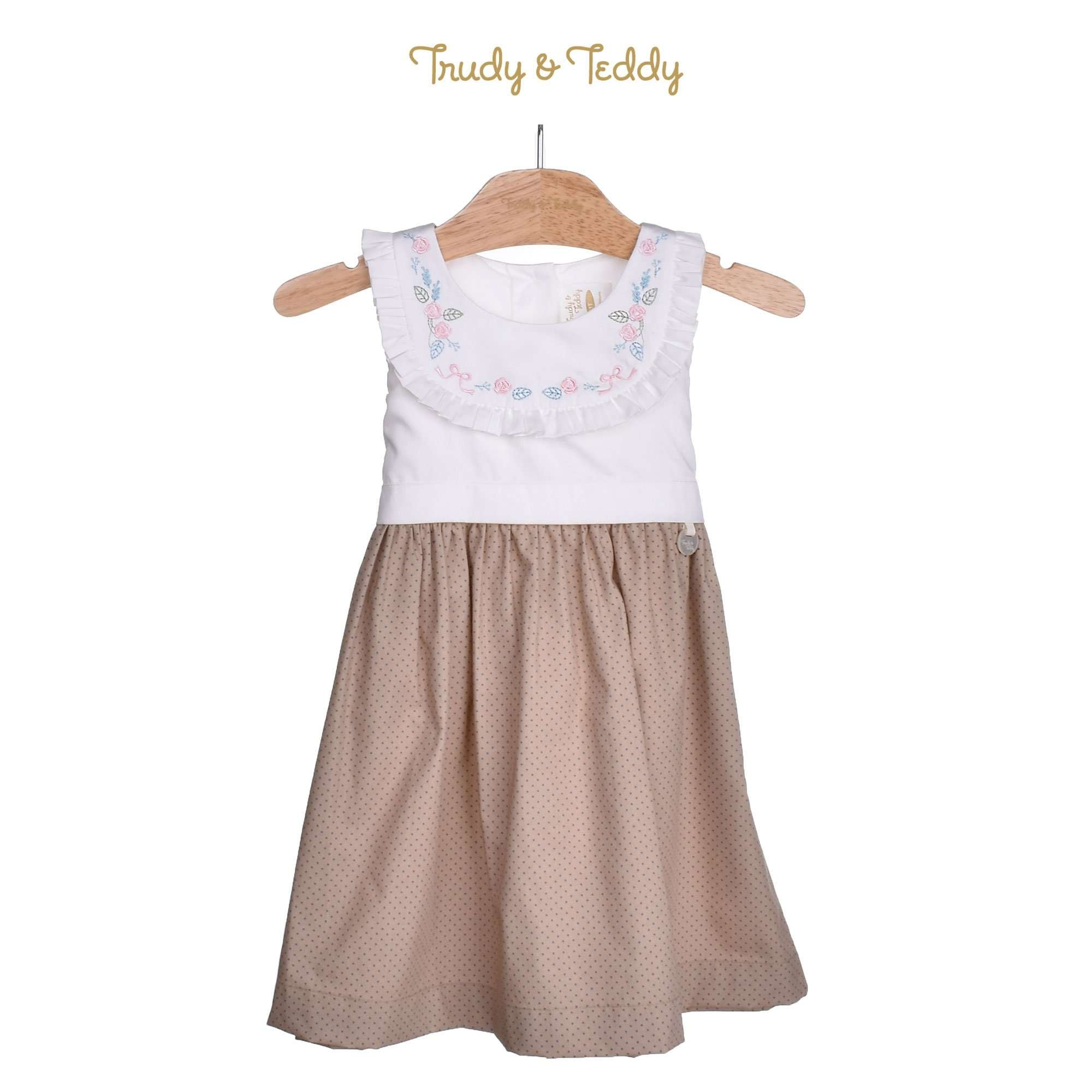 Trudy & Teddy Toddler Girl Woven Sleeveless Dress 815120-311 : Buy Trudy & Teddy online at CMG.MY