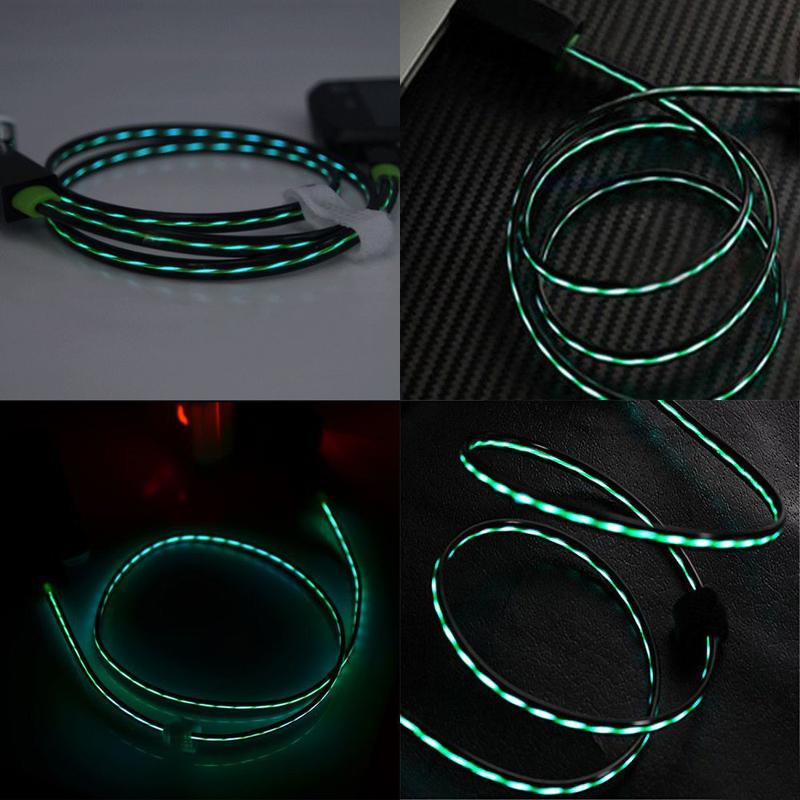 Color LED Lightning Cable for iPhone