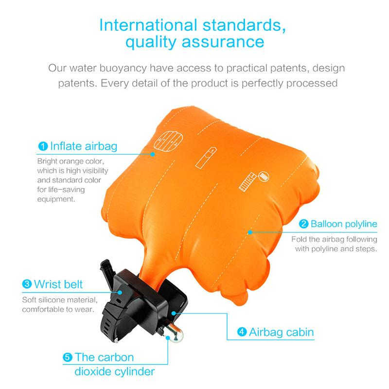 Portable Inflatable Rescue Device