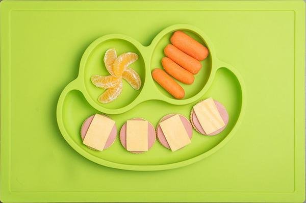 Happy Mat - silicone placemat & plate