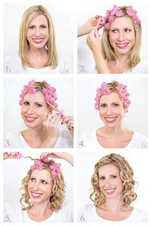 Damage Free Silicone Hair Curlers