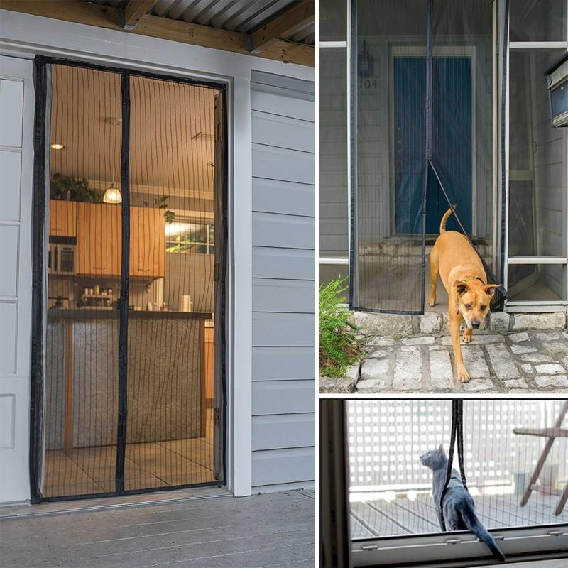 Exceptional Magic Mesh   Magnetic Screen Door Cover