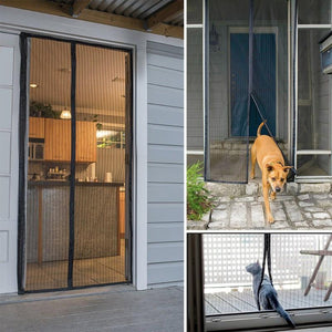 Magic Mesh - Magnetic Screen Door Cover