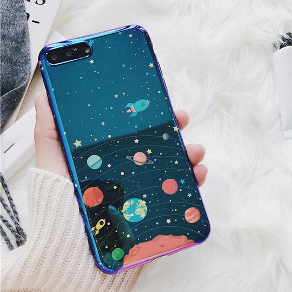 Chrome Space Case for iPhone iPhone 8/8 Plus