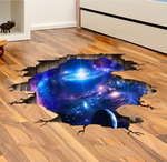 3D Milky Way Ceiling & Floor Decal