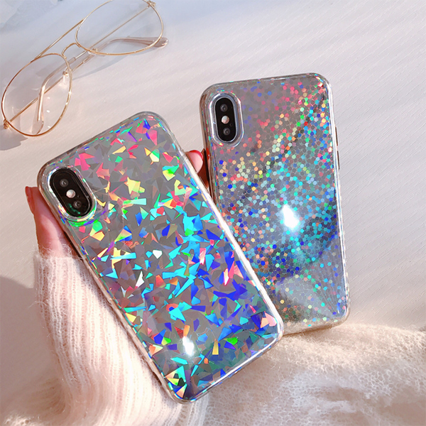Geometric Rainbow Case for iPhone X