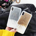 Glitter Quicksand Case for iPhone X