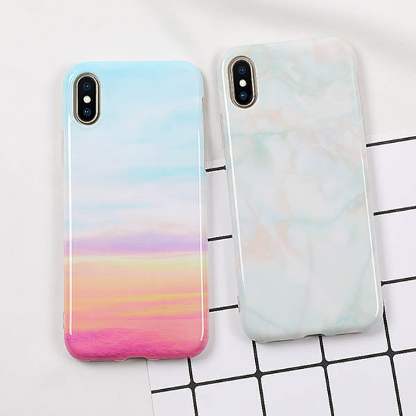 Rainbow Ombre case for iPhone X