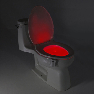 LED WC Lamp Night Lighting with Motion Sensor 8 Color