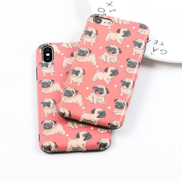 Pugs Case for iPhone X