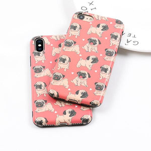 Pugs Case for iPhone iPhone 6/6s & 6 Plus/6s Plus