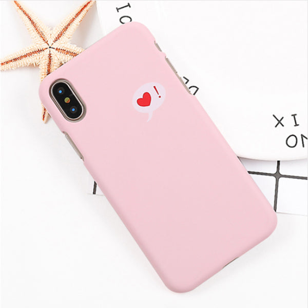 I Love you Case for iPhone X