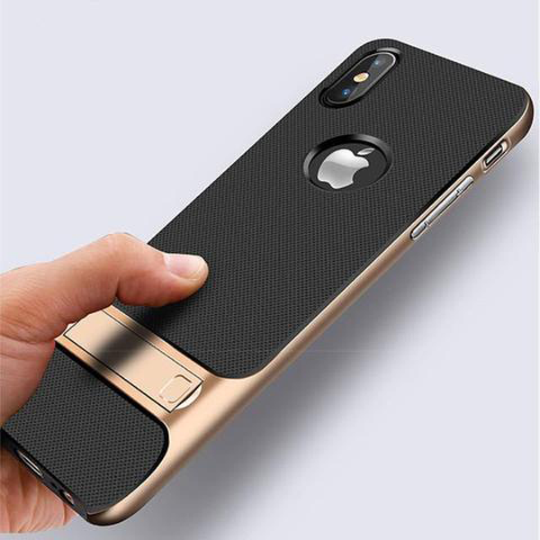 Shockproof Case with Stand for iPhone X