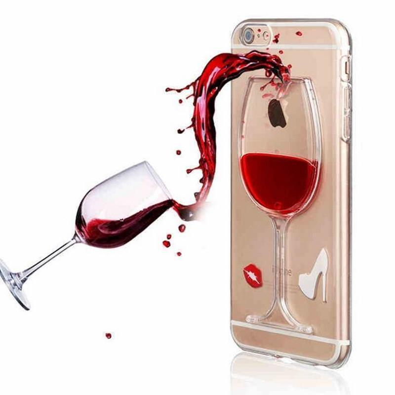 Red Wine iPhone Case for iPhone 8/8 Plus
