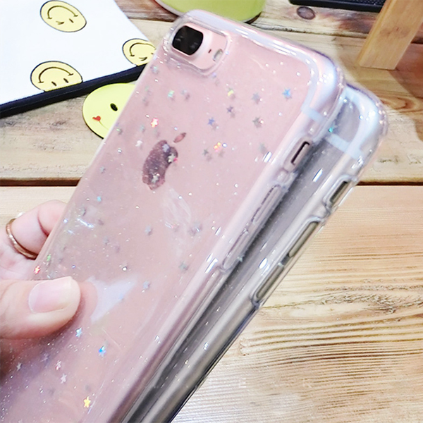 Galaxy Glitter Case for iPhone 8