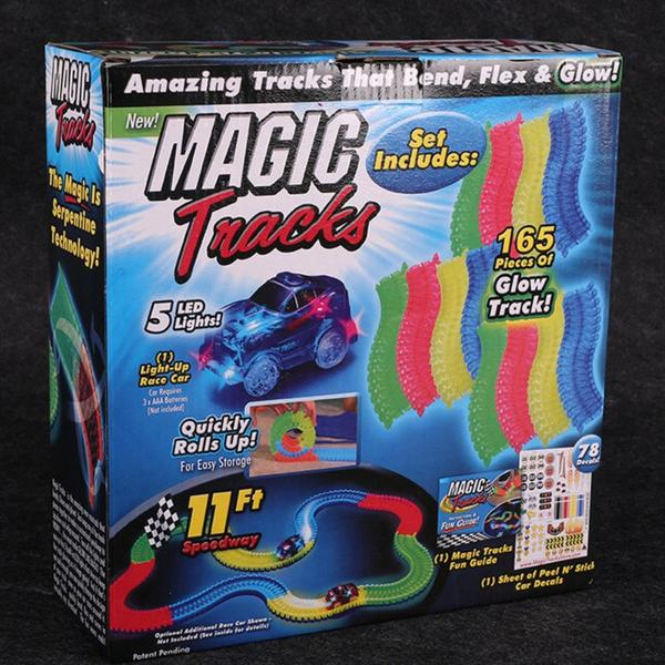 Glowing Racing Set