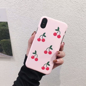 Cherry Case for iPhone X