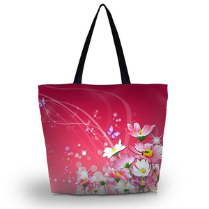 Butterfly Soft Foldable Shopping Bag