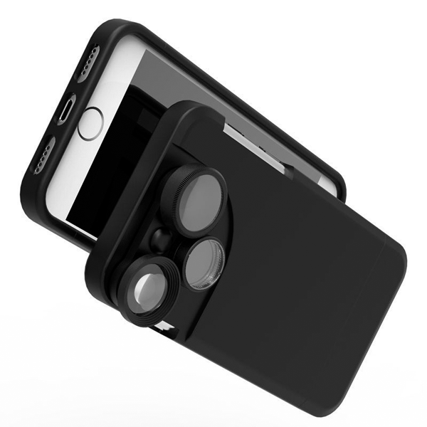 Rotating Lens Case for iPhone 6/6s Plus