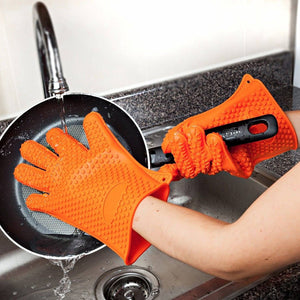 Silicone Heat Resistant Gloves