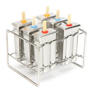 6 Cell Popsicle Mold
