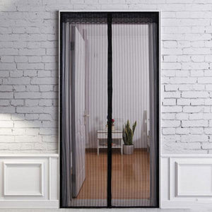 Awesome Magic Mesh   Magnetic Screen Door Cover
