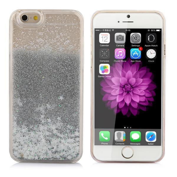 Swirling Stars Glitter iPhone Case for iPhone 5/5s