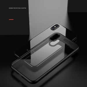 Super Slim Crystal Clear iPhone Cover for iPhone X