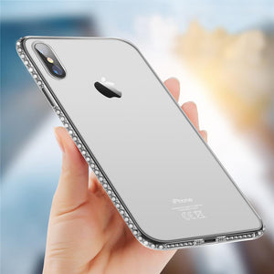Crystal Clear Diamond Case for iPhone 8/8 Plus