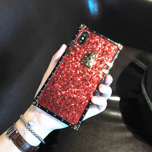Glitter Trunk Case for iPhone X