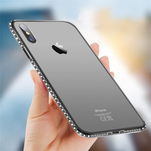 Crystal Clear Diamond Case for iPhone 7/7 Plus