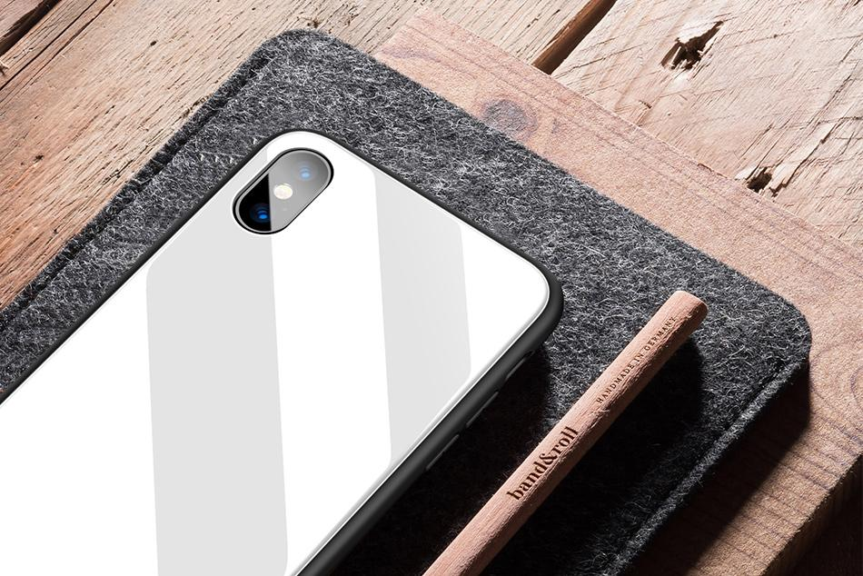 Mirror Finish Case for iPhone X