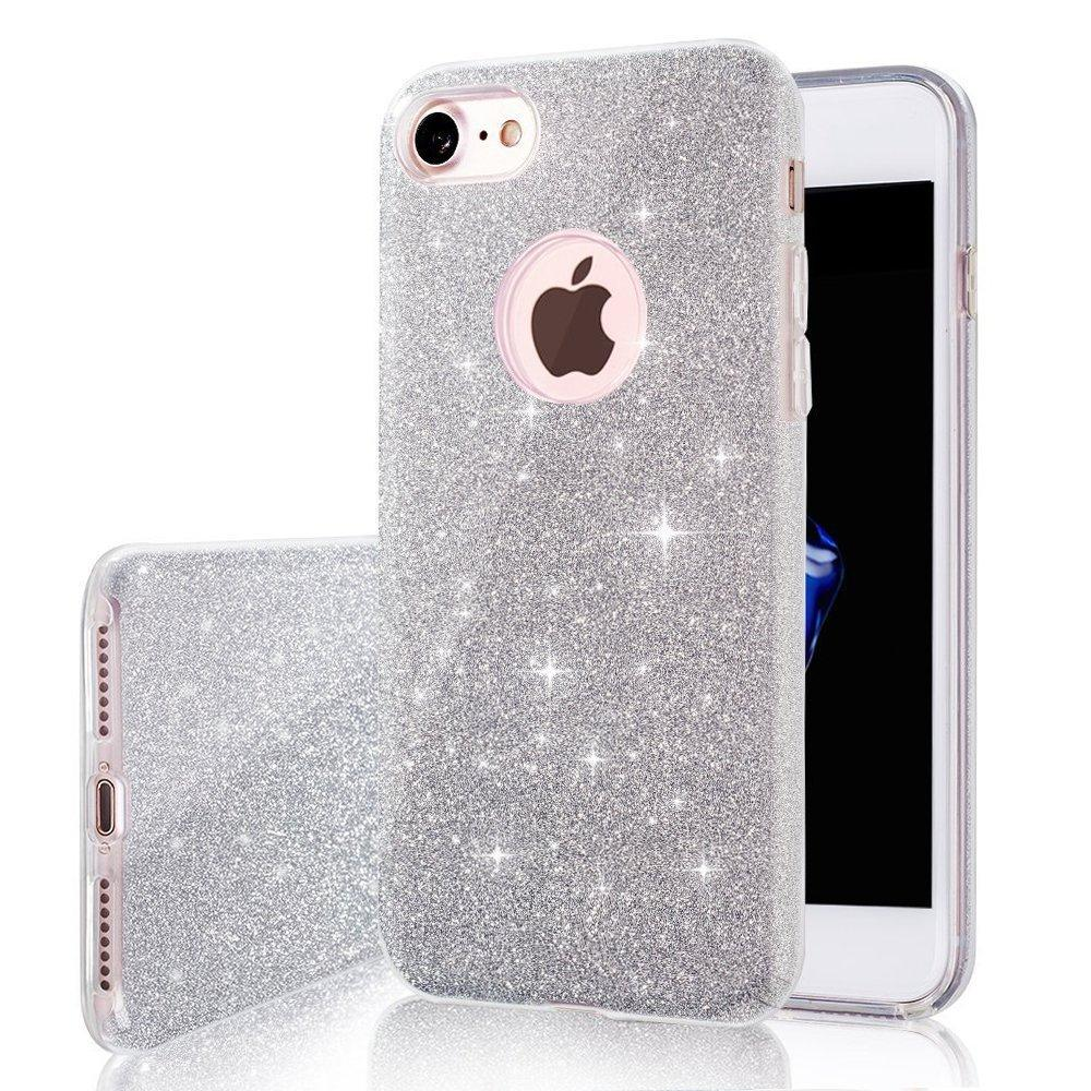 Clear Glitter Iphone Case for iPhone 8/8 Plus