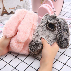 Fluffy Bunny Case for Samsung S9/S9 Plus