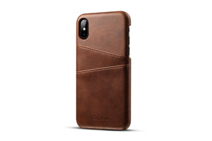 Leather Card Case for iPhone X