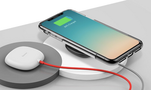 2-way Wireless Charger - A Charger that Goes & Stays With your Phone