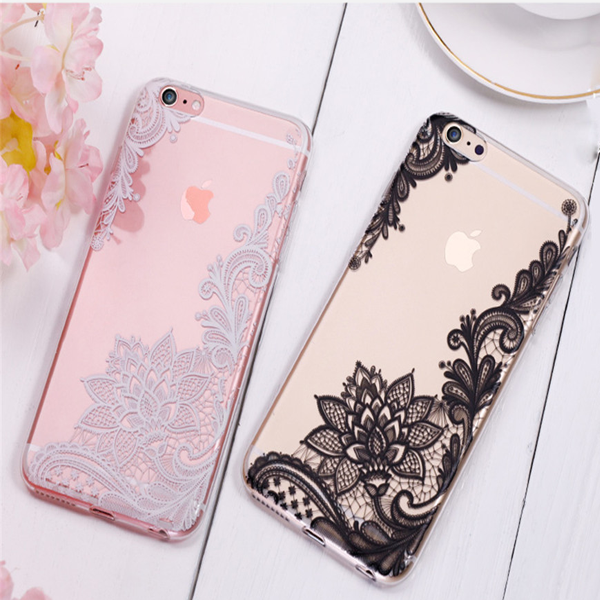 Lux Glass Lace Case for iPhone 7/7 Plus