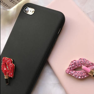 Crystal Lip Case for iPhone 7/7 Plus