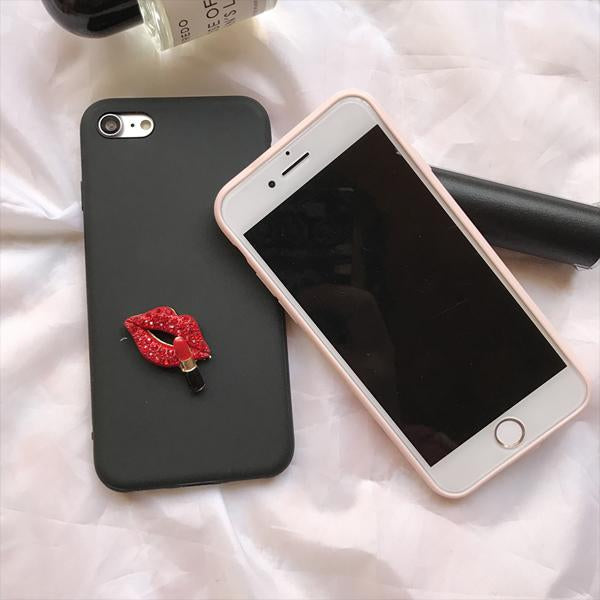 Crystal Lip Case for iPhone 6/6s & 6 Plus/6s Plus