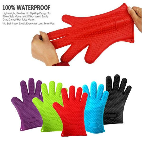 Chef Mitts - Heat Resistant Cooking Glove